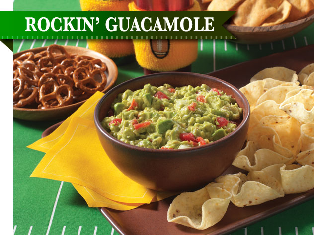 Rockin' Guacamole Recipe