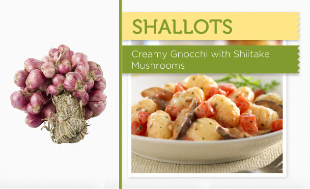 Creamy Gnocchi with Shiitake Mushrooms Recipe
