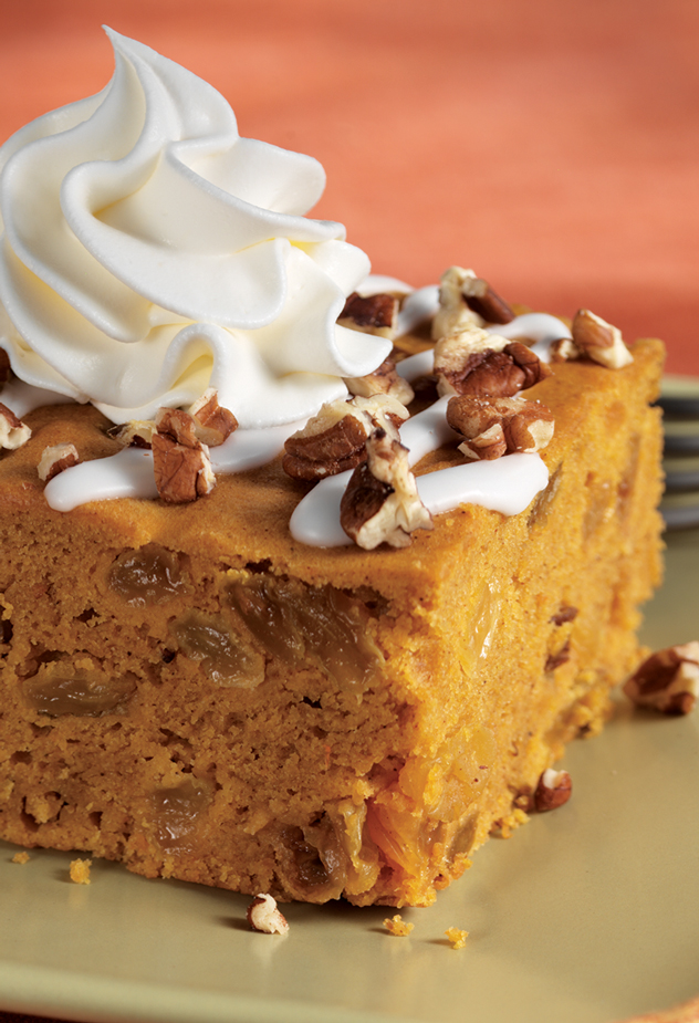 Iced Pumpkin Spice Cake Recipe