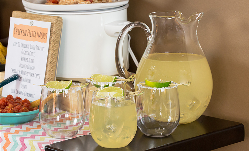 Big Batch Margaritas Recipe